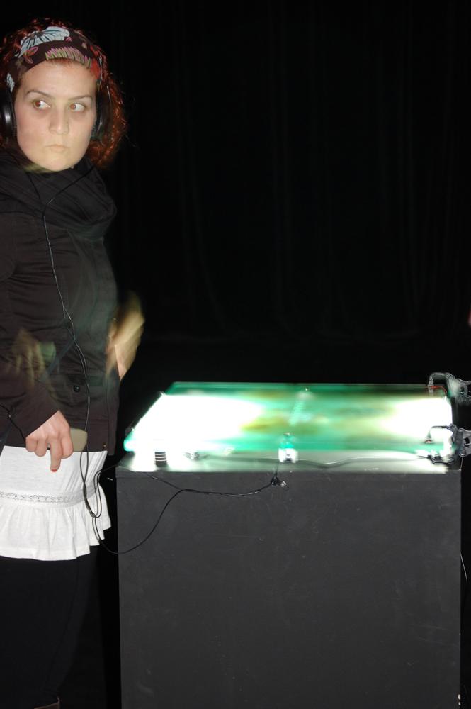 Mark Brown sound installation